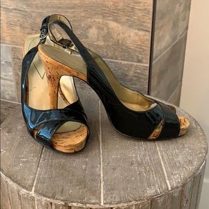 Guess Patent Heels- size 9
